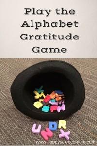 Play the Alphabet Gratitude Game