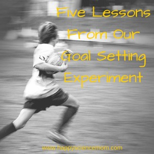 Five Lessons From Our Goal Setting Experiment