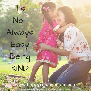 It's Not Always Easy Being KIND