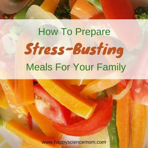 stress busting meals