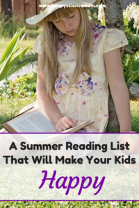 A Summer Reading List That Will Make Your Kids Happy