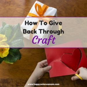 How To Give Back Through Craft
