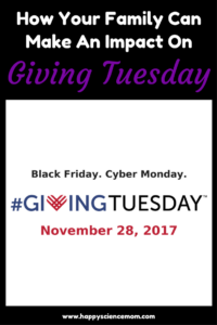 How Your Family Can Make An Impact On Giving Tuesday