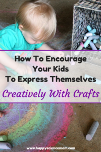 How To Encourage Your Kids To Express Themselves Creatively With Crafts