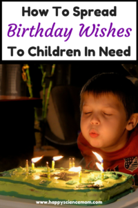 How To Spread Birthday Wishes To Children In Need