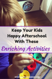 Keep Your Kids Happy Afterschool With These Enriching Activities