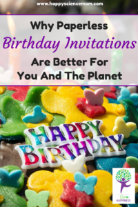 why paperless birthday invitations are better for you and the planet
