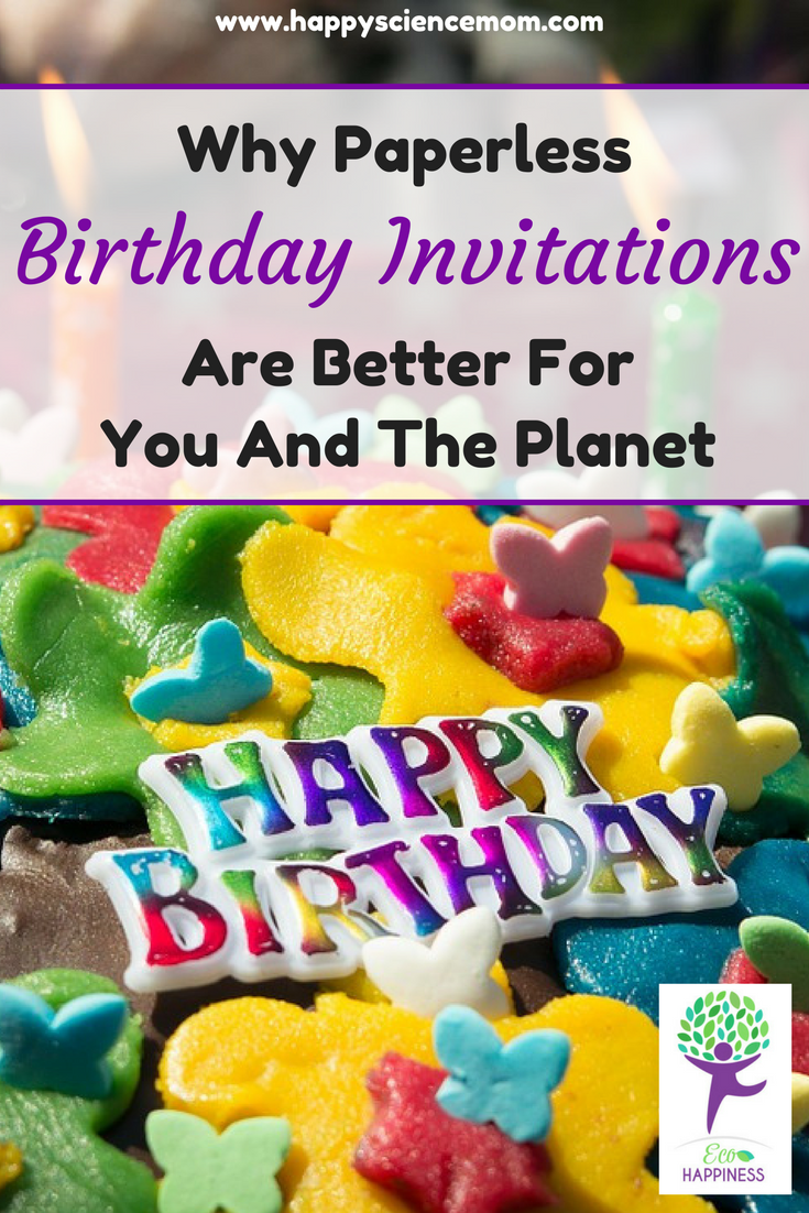 Paperless Post - Invitation Card - Save Trees - Reduce Reuse Recycle