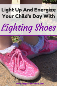 Light Up And Energize Your Child's Day With Lighting Shoes