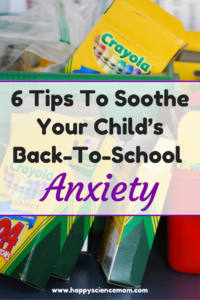 6 Tips To Soothe Your Child's Back-To-School Anxiety