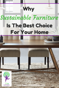 Why Sustainable Furniture Is the Best Choice For Your Home