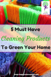 5 Must Have Cleaning Products To Green Your Home