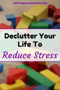 Declutter Your Life To Reduce Stress
